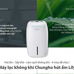 Máy lọc không khí ChungHo Hút ẩm – LILY  CHDH-120JA