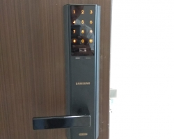 Khóa cửa vân tay Samsung – khóa cửa vân tay Hàn Quốc tốt nhất