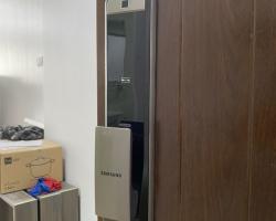 Khóa cửa vân tay Samsung SHP-DP609 lắp cho cửa nào ?