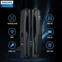 Khóa cửa vân tay nhận diện khuôn mặt Philips DDL702