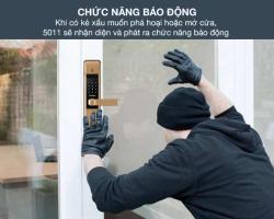 Khóa cửa điện tử có khả năng chống trộm như thế nào ?