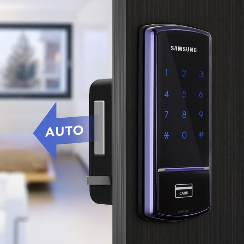 Khóa cửa điện tử Samsung SHS-1321 tự động chốt an toàn