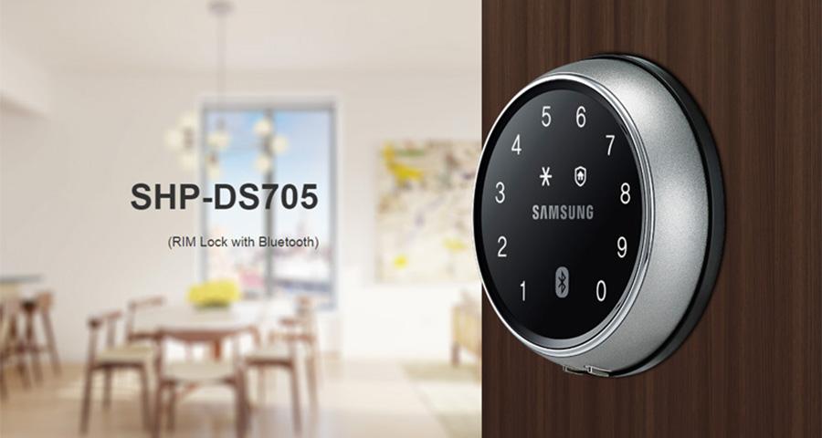 Lắp đặt khóa cửa điện tử Samsung chính hãng Hàn Quốc