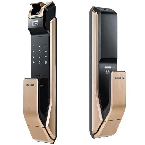 khóa cửa vân tay Samsung nhập khẩu SHS P718